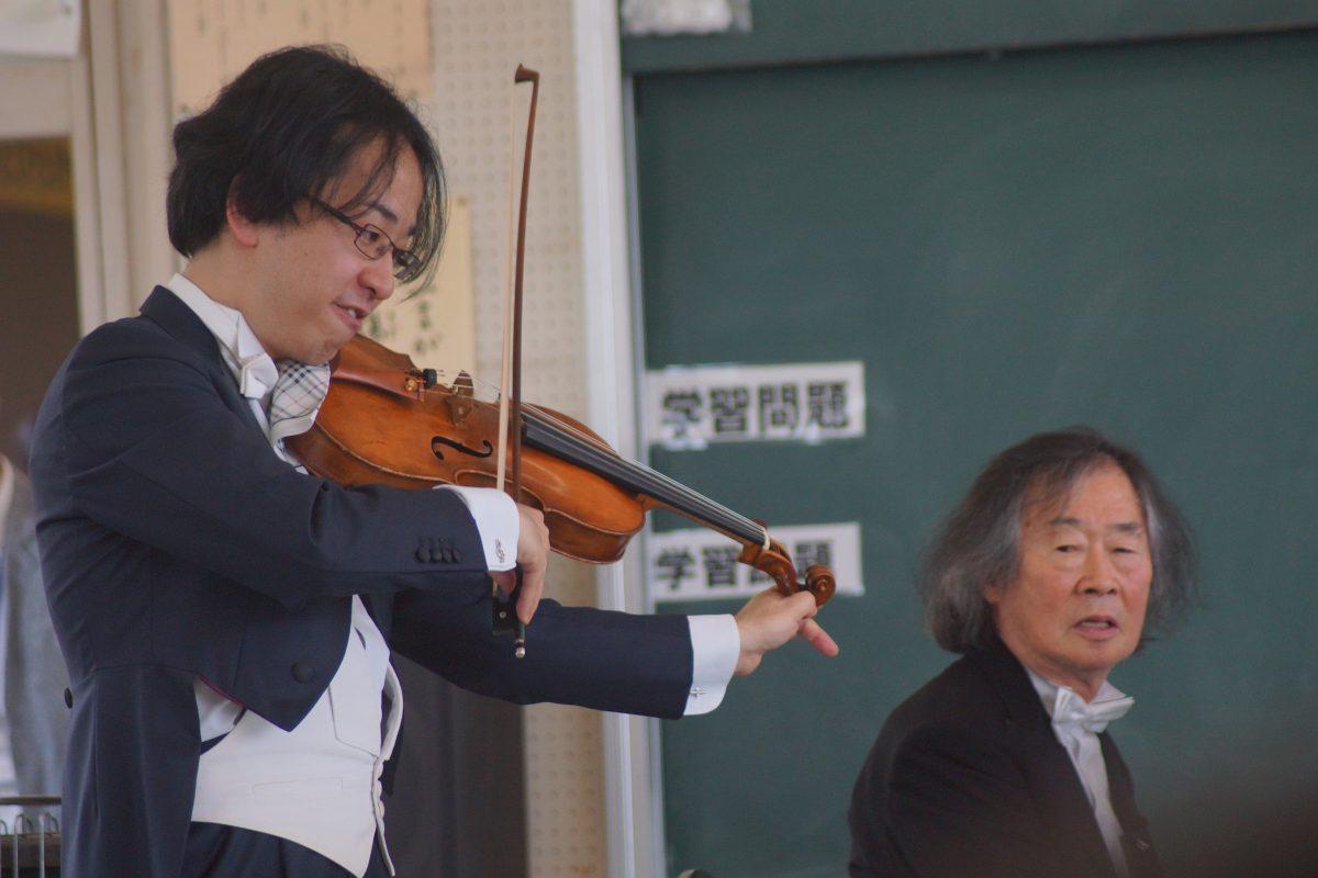【音楽】コバケンが出前授業にやってきた!〜須坂小学校・須坂支援学校