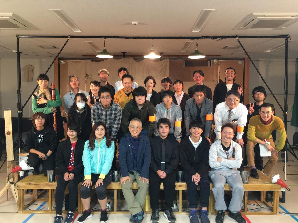 【演劇】波田「中高生が主体となって『月夜のファウスト』やお客様を迎え入れる準備をしてくれました」