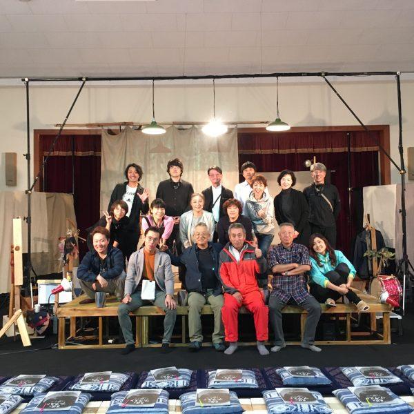【演劇】松本安曇「トランクシアター・プロジェクト2019大千秋楽!ありがとうございました!」